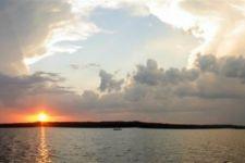 Raleigh North Carolina Falls Lake